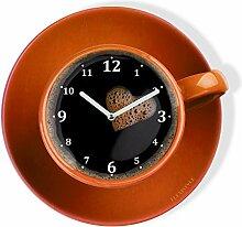 FLEXISTYLE Horloge Murale de Cuisine Moderne Tasse
