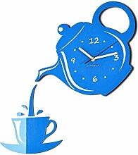 FLEXISTYLE Horloge Murale Moderne pour la Cuisine