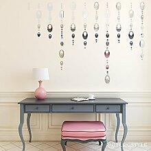FLEXISTYLE Miroir décoratif Shine 2 - Design