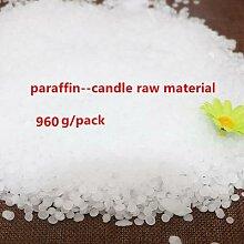 Flocons de cire de paraffine Pure, 960g, bougies