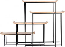 FLODKA - Rangement modulable bois et acier