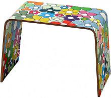 FLOWER - Table d'appoint en bois imprimé