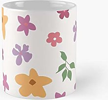 Flowers In The Garden Classic Mug Flowers, For