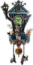 Flqhu Horloge à coucou murale - L'Étrange
