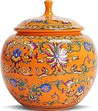 FLYFO Rétro Stockage Boîte Exquis Céramique Pot