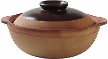 FLYTYSD Clay Pot Casserole Argile Marmite - Argile