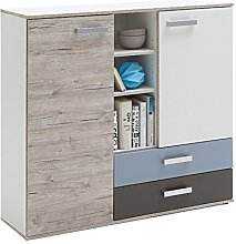 FMD furniture Commode, Bois d'ingénierie,