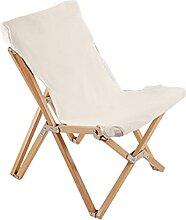 Folding chair Chaise De Plage De Loisirs en Toile