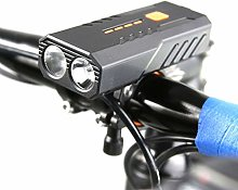 follwer0 LED Vélo Light Bicycle Éclairage Phare