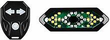 follwer0 LED Vélo Light USB Vélo Lights Feu