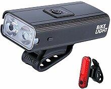 follwer0 Lumière de vélos LED USB Lampe de vélo
