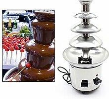 Fontaine à chocolat 4 niveaux 170 W fontaine au