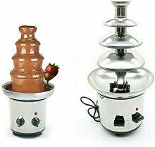 Fontaine à chocolat en acier inoxydable avec