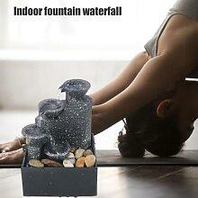 Fontaine à eau USB, artisanat de méditation,