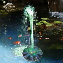 Fontaine à pompe solaire flottante 5V/1.4W,