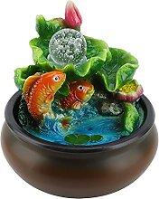 Fontaine d'eau d'intérieur, décoration