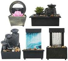 Fontaine d'eau de bureau, décoration