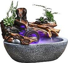 Fontaine d'eau de bureau Rockery Eau Fontaine