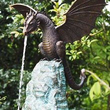 Fontaine d'eau De jardin créative, Sculpture
