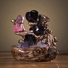 Fontaine d'eau de table d'intérieur Zen