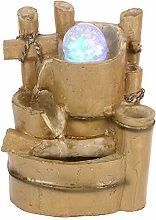 Fontaine d'eau de table de méditation zen,