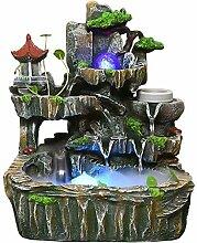 Fontaine d'eau moderne Crystal Ball Rockery