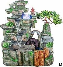 Fontaine d'intérieur 2 couches Rocaille