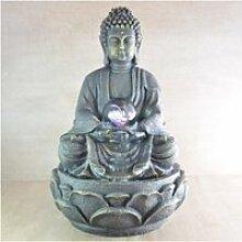 Fontaine d'intérieur bouddha méditation