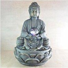 Fontaine d'intérieur Bouddha Zen 33cm avec