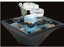 Fontaine d'intérieur led en verre Himalaya