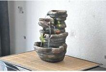 Fontaine d'intérieur nature zen triple