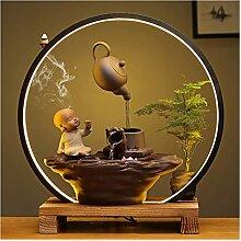 Fontaine d'intérieur Pot de suspension