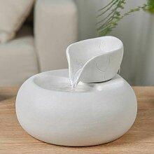 Fontaine d'interieur yoga position méditation