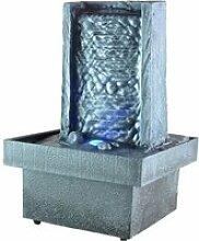 Fontaine d'intérieur zen à LED - Eclairage