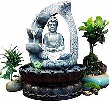 Fontaine de Bouddha, fontaine de bureau de Bouddha