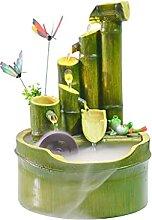Fontaine de bureau de style pastoral, fontaine de