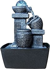 Fontaine de bureau Décoration de la cascade de