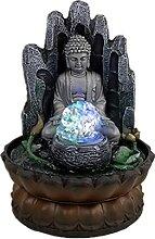 Fontaine de bureau Indoor Buddha Fontaine Tabletop