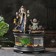 Fontaine de bureau Intérieur Zen Cascading
