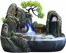 Fontaine de bureau Rocaille Cascade Fontaine