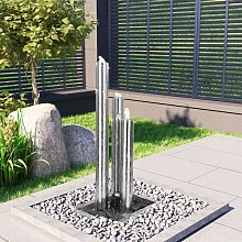 Fontaine de jardin Argente 48x34x88 cm Acier