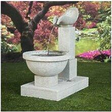 Fontaine de jardin cascade 120 cm 21105