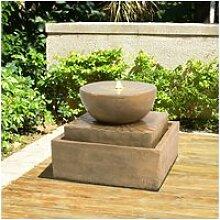 Fontaine de jardin d'extérieur chute d'eau