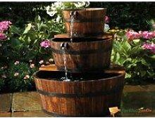 Fontaine de jardin en bois aquaarte edinburgh