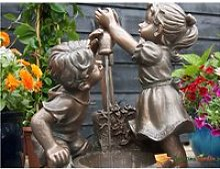 Fontaine de jardin en polyrésine aquaarte memphis