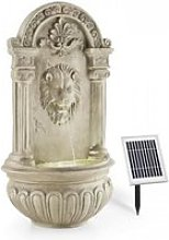 Fontaine de jardin murale 2w solaire led