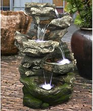 Fontaine de jardin Norfolk rochers avec cascade et