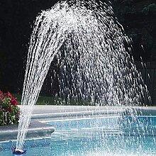 Fontaine de piscine arroseur cascade de fleurs