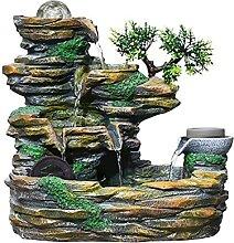 Fontaine de Table 16,9 pouces Rockery Tabletop