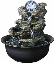 fontaine de table 4-couche stratifié résine Zen